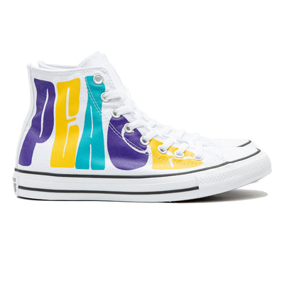 Chuck Taylor All Star Peace Powered Hi | White