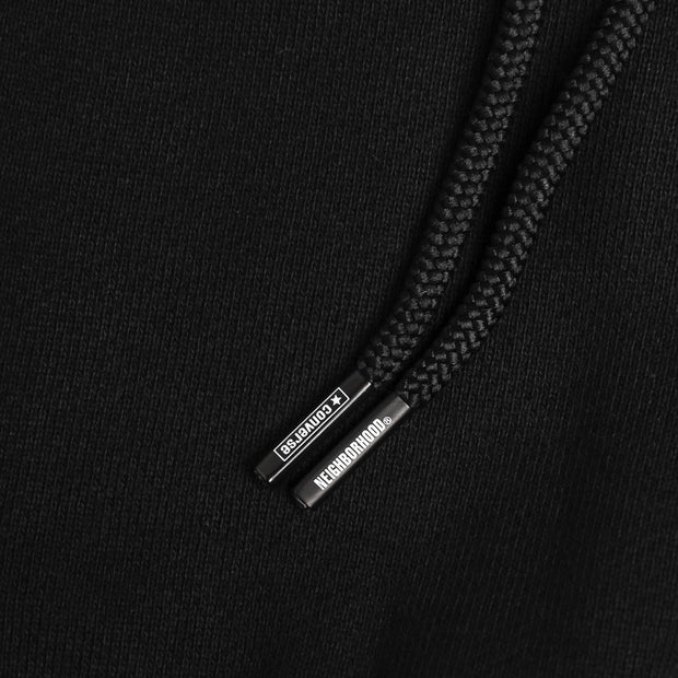 Converse Converse X NEIGHBORHOOD Hooded Pullover | Black - CROSSOVER