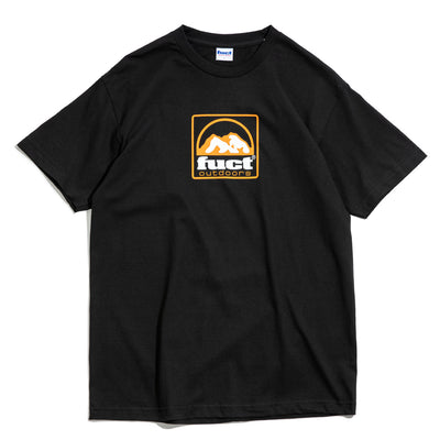 Outdoors Logo Tee | Black