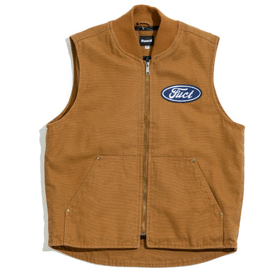 Oval Utility Vest | Duck Brown