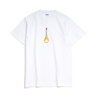 Flying V Tee | White