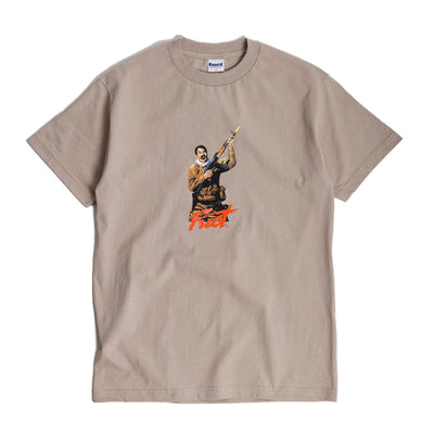 Fuct Scream Tee | Tan - CROSSOVER