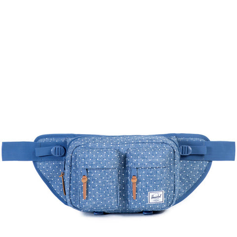 Diamond Script Bag | Navy