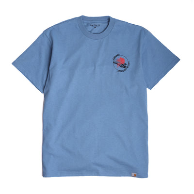 Carhartt WIP Hotline Tee | Cold Blue - CROSSOVER