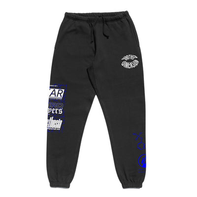 Another Dimension Sweatpants | Black
