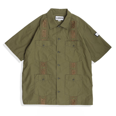 Neighborhood Cuba C-Shirt | Olive - CROSSOVER