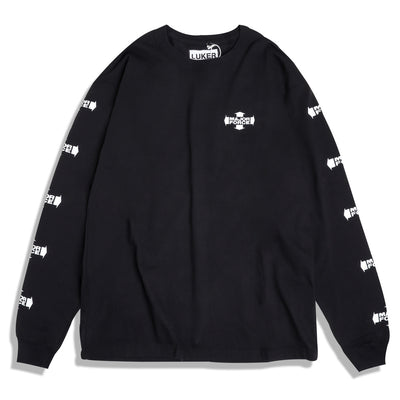 Neighborhood Major Force LS Tee | Black - CROSSOVER
