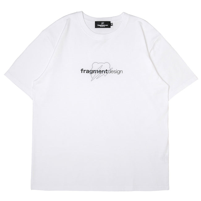 Medicom x Fragment Design W Logo BE@RTEE | White