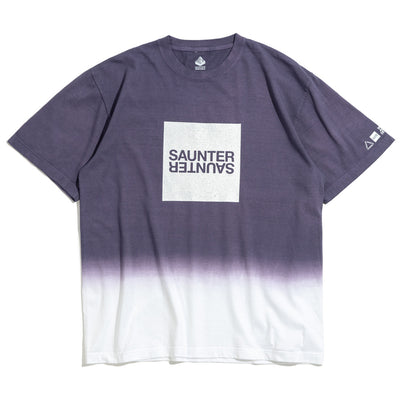Saunter Dye Tee | Navy