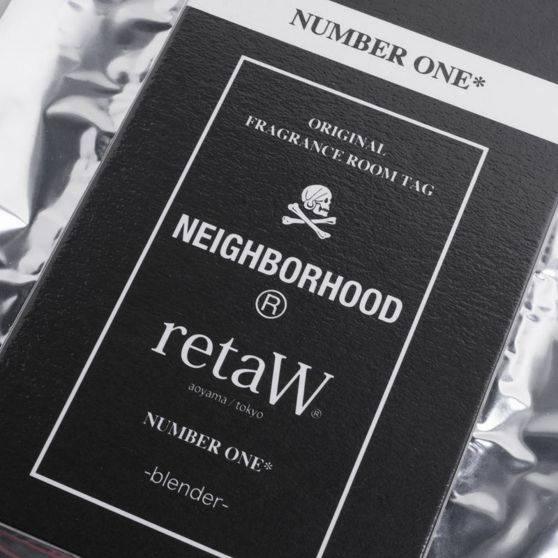 NEIGHBORHOOD x Retaw Room Tag | Number One*