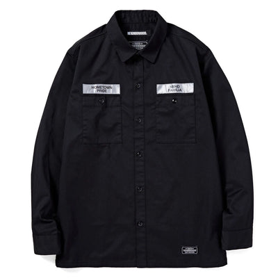 NeighborhoodClassic Work LS. EC-Shirt | Black - CROSSOVER