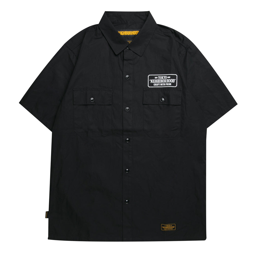 Neighborhood Classic Work C-Shirt | Black - CROSSOVER ONLINE