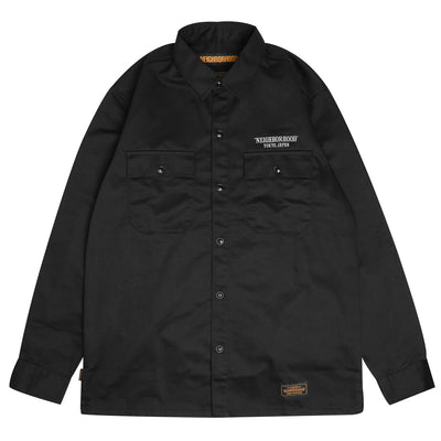 Neighborhood Classic Work Shirt | Black - CROSSOVER