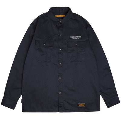 Neighborhood Classic Work Shirt | Navy - CROSSOVER
