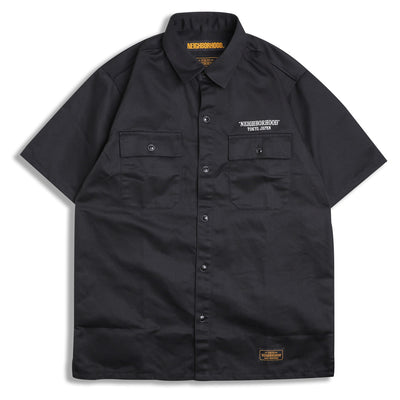 Neighborhood Classic Work EC-Shirt | Black - CROSSOVER