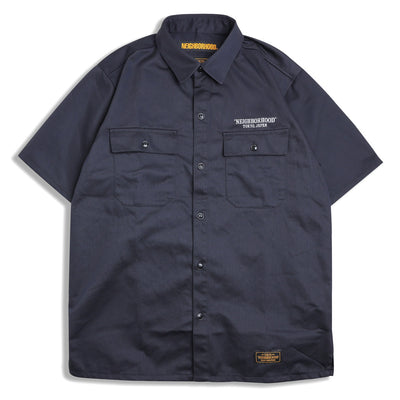 Neighborhood Classic Work EC-Shirt | Navy - CROSSOVER