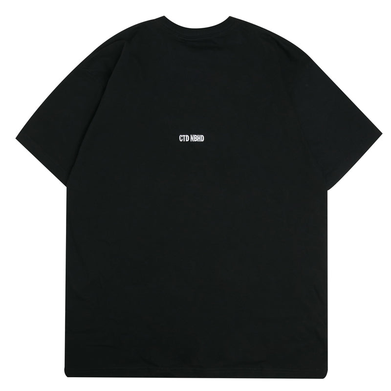 Neighborhood NEIGHBORHOOD x Cali Thornhill Dewitt CTDNH-1 Tee | Black - CROSSOVER ONLINE