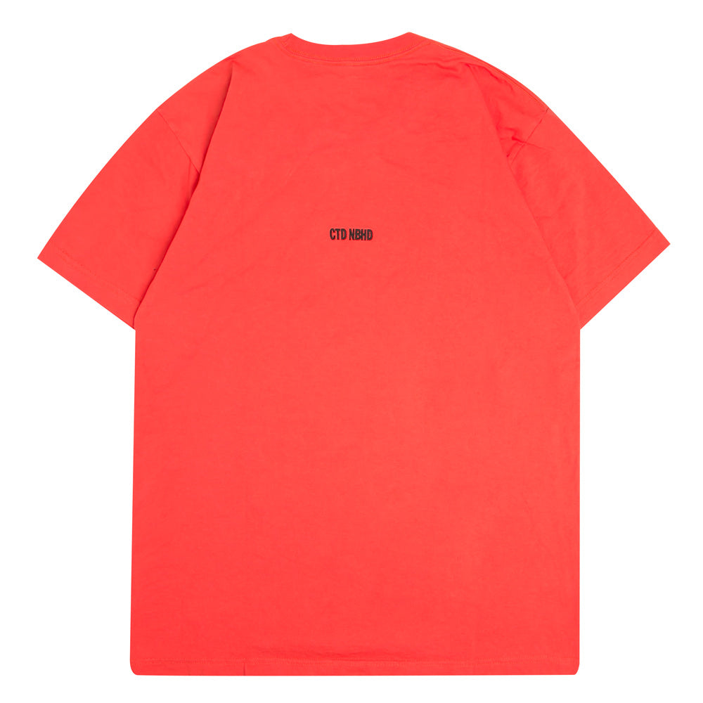 Neighborhood NEIGHBORHOOD x Cali Thornhill Dewitt CTDNH-1 Tee | Orange - CROSSOVER ONLINE