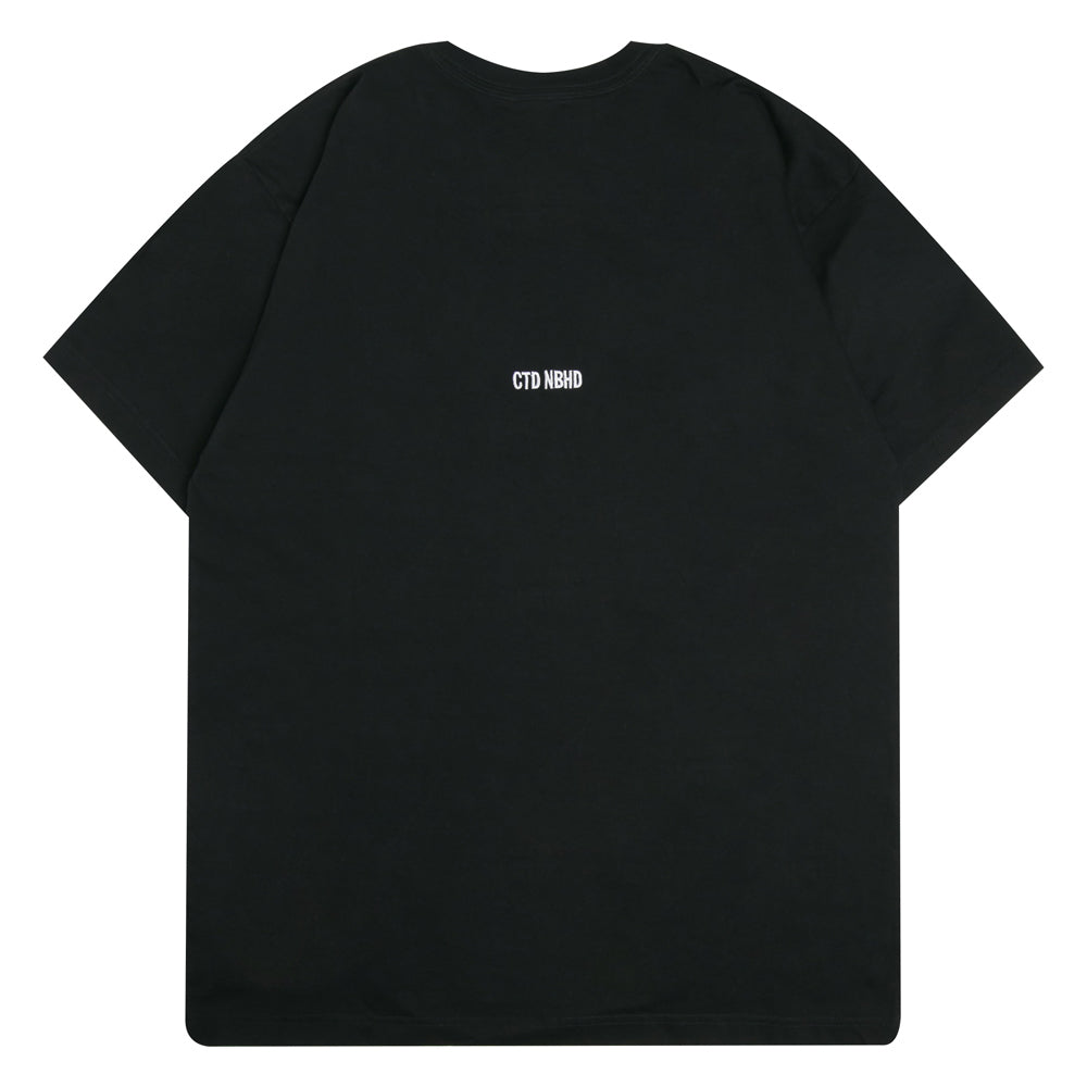 Neighborhood NEIGHBORHOOD x Cali Thornhill Dewitt CTDNH-2 Tee | Black - CROSSOVER ONLINE