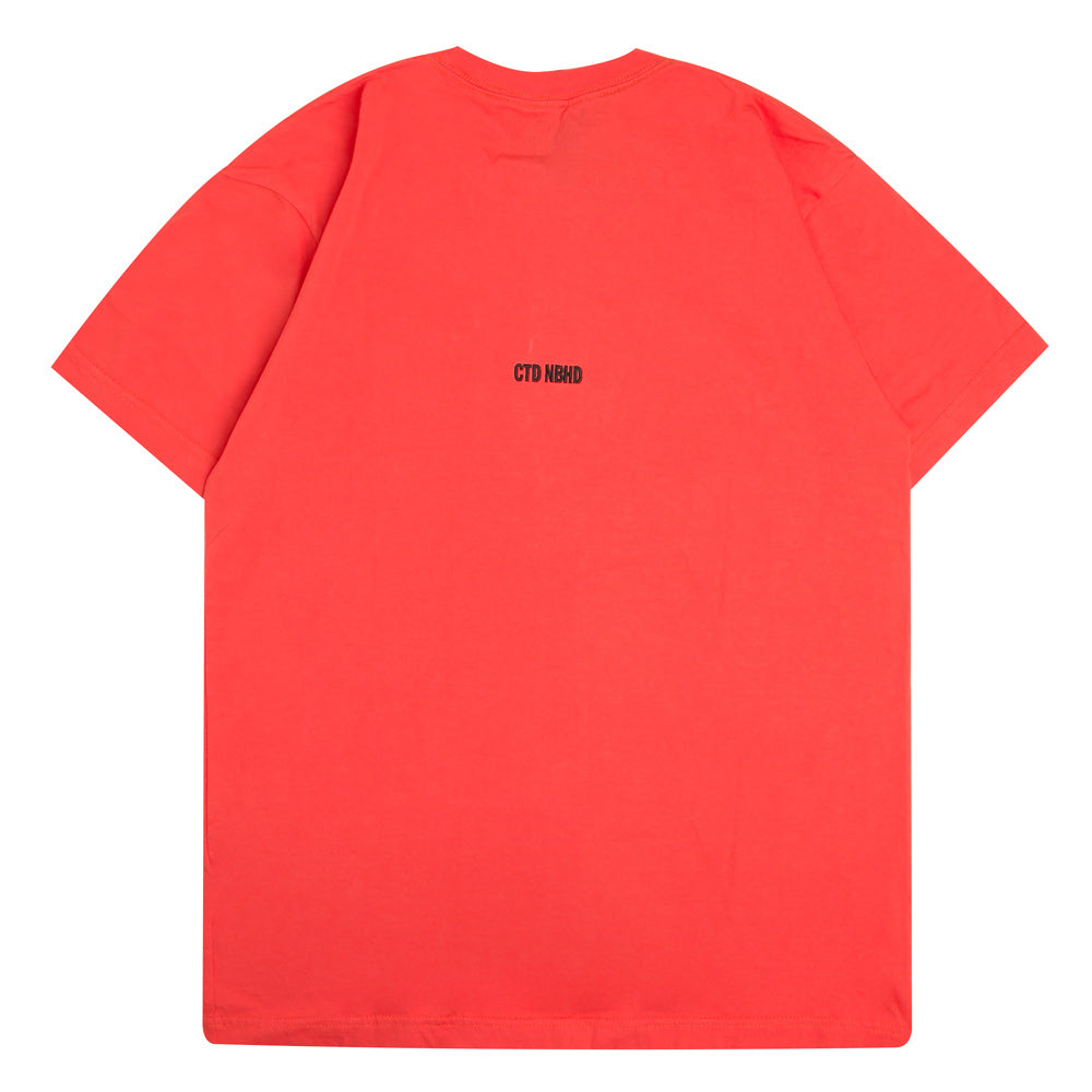 Neighborhood NEIGHBORHOOD x Cali Thornhill Dewitt CTDNH-2 Tee | Orange - CROSSOVER ONLINE