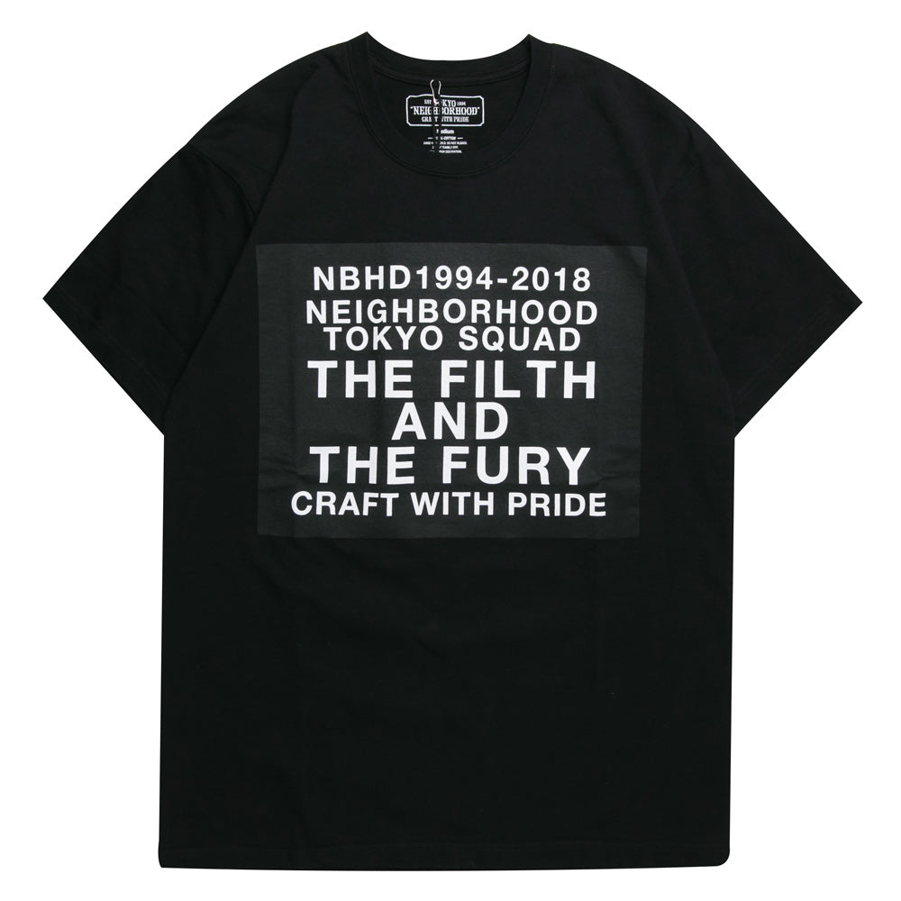 NeighborhoodDigital C-Tee | Black - CROSSOVER ONLINE