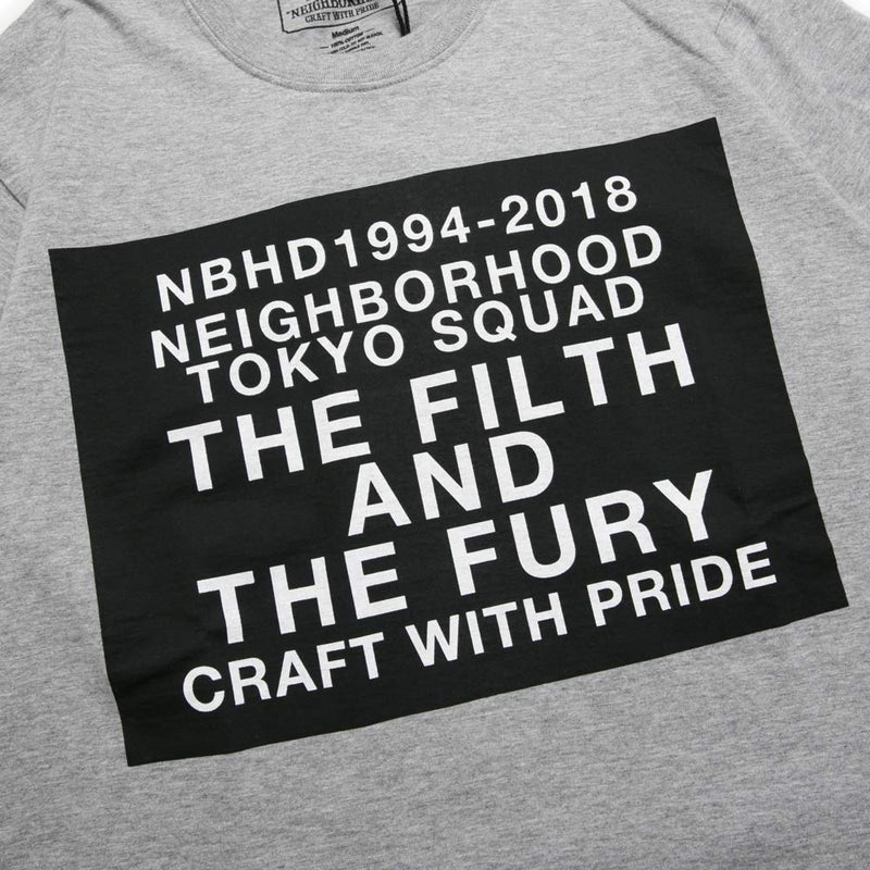 Neighborhood Digital C-Tee | Grey - CROSSOVER ONLINE