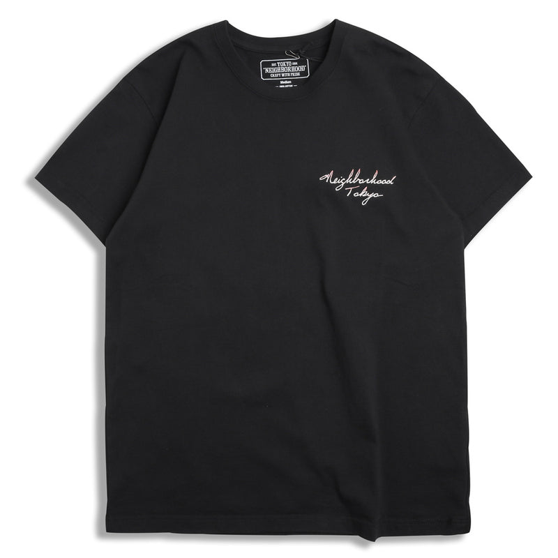 Neighborhood EMB-2 Tee | Black - CROSSOVER