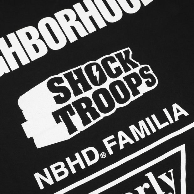 Neighborhood Familia Tee | Black White - CROSSOVER