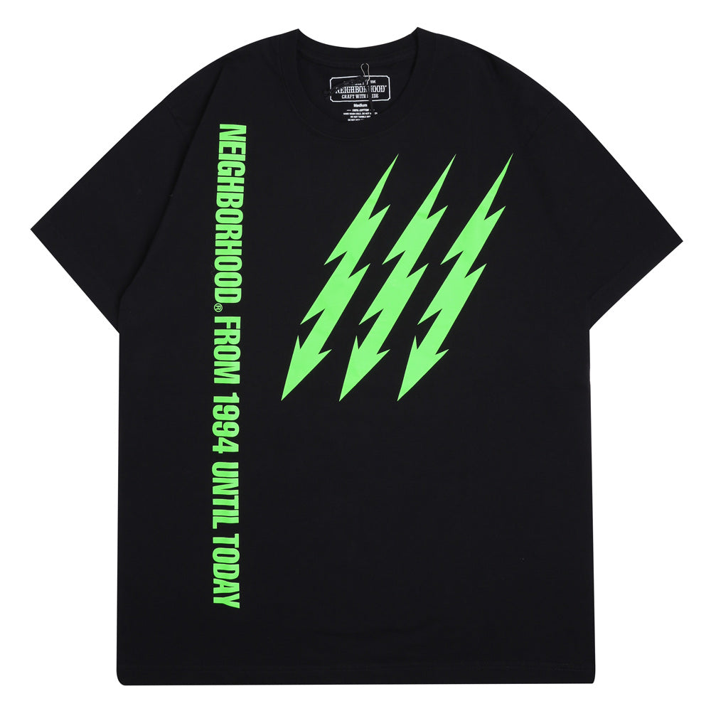 Neighborhood Familia Tee | Black Green - CROSSOVER