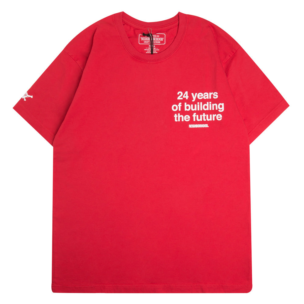 Neighborhood Future Tee | Red - CROSSOVER ONLINE