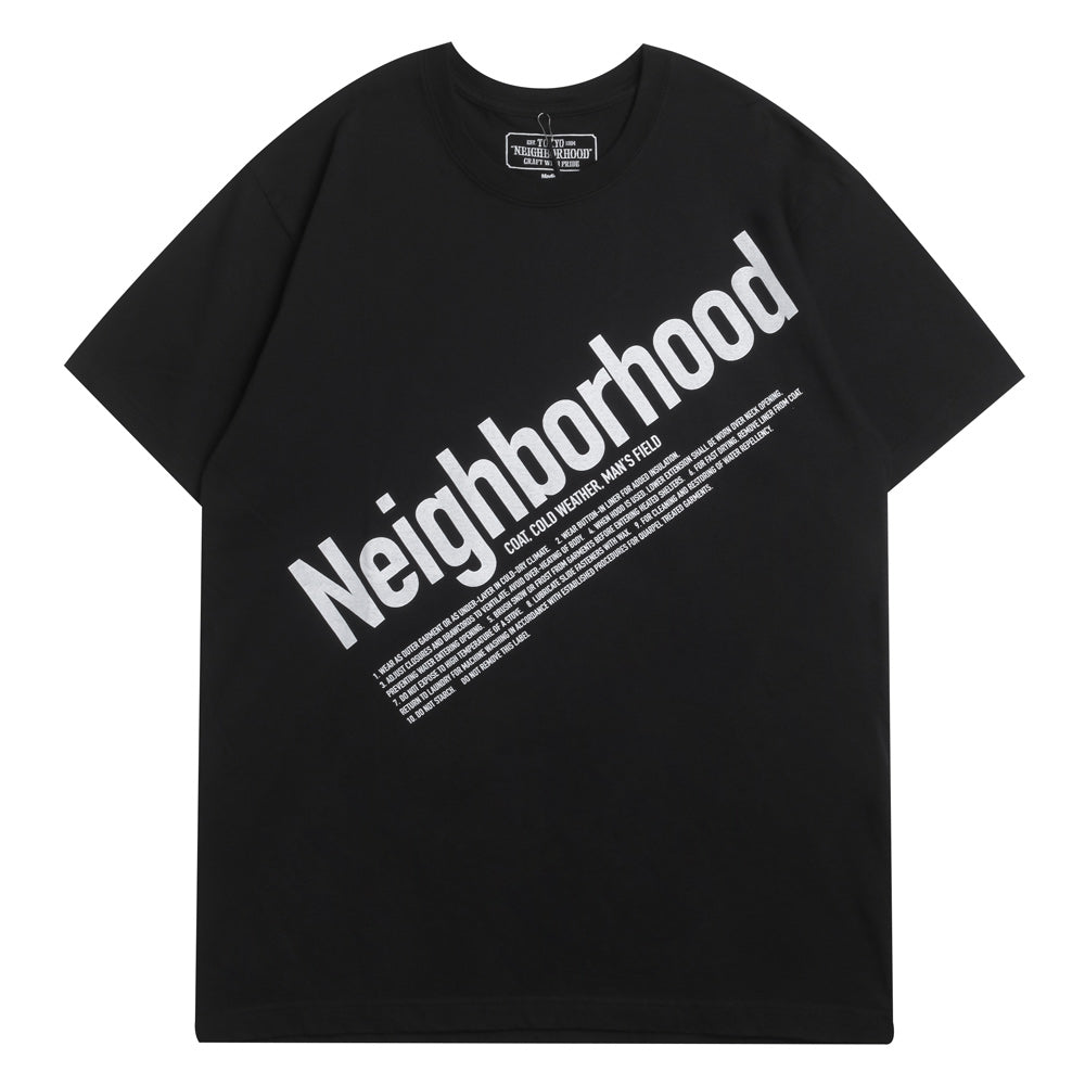 Neighborhood ID Tee | Black - CROSSOVER