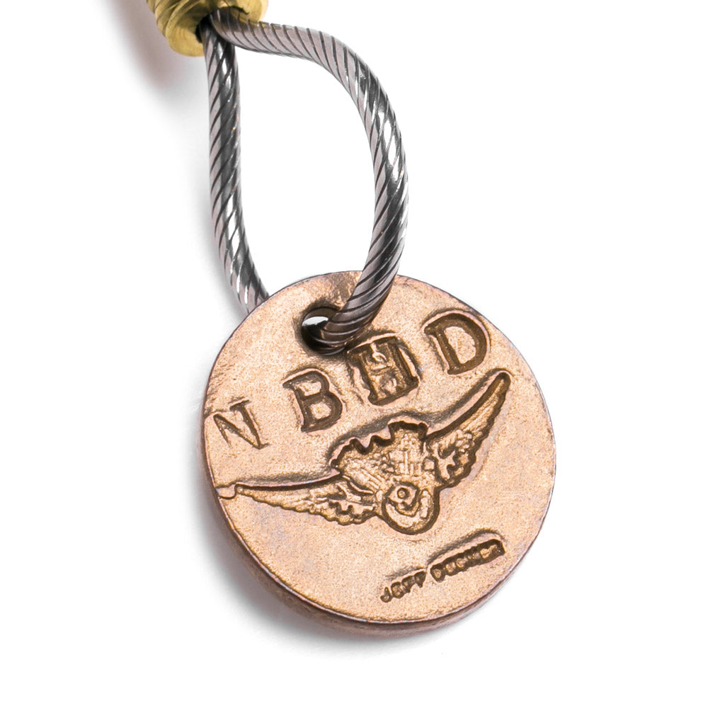 Neighborhood NEIGHBORHOOD x Jeff Decker Key Hook | Silver Gold - CROSSOVER ONLINE