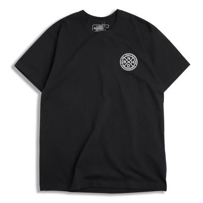 Neighborhood Logic Tee | Black - CROSSOVER