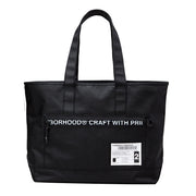 NeighborhoodMIL-Tote N-Luggage | Black - CROSSOVER