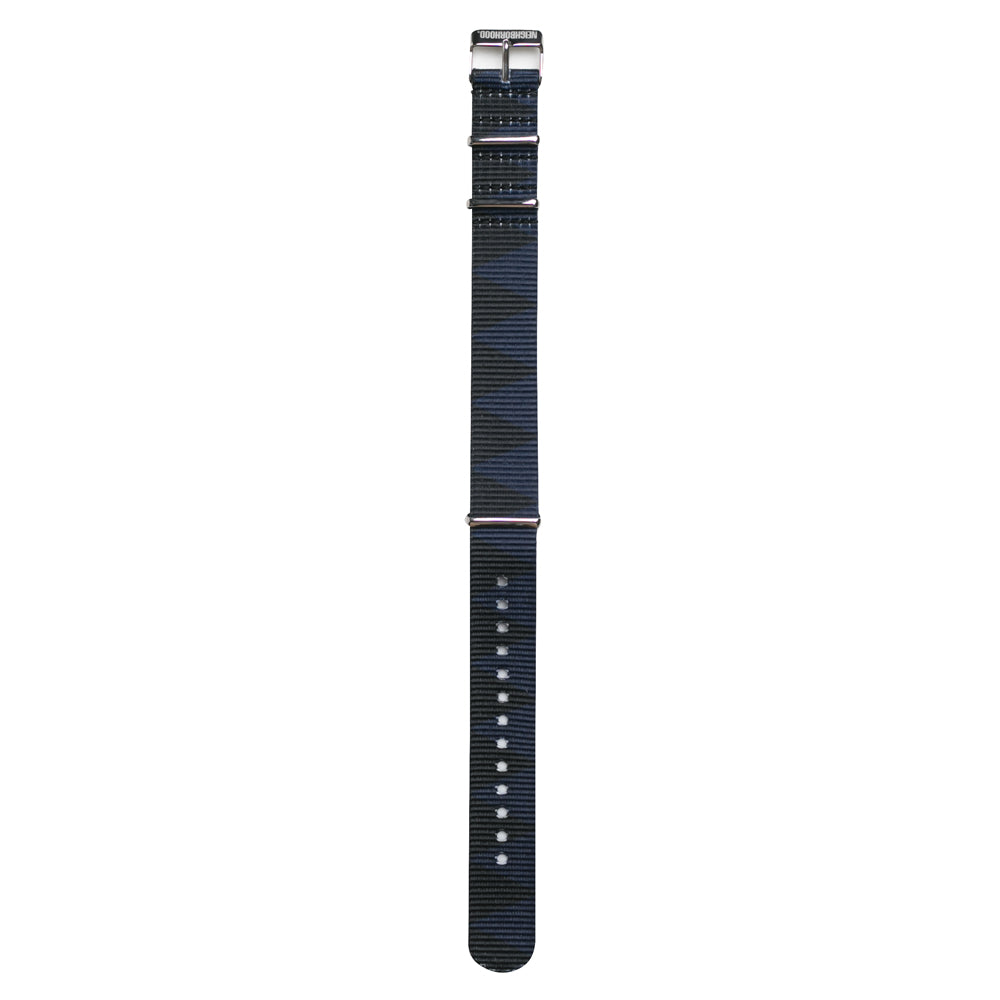 NeighborhoodNato Watch Strap | Black Blue - CROSSOVER ONLINE