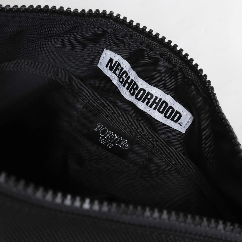 Neighborhood P.H N-Pouch | Black - CROSSOVER