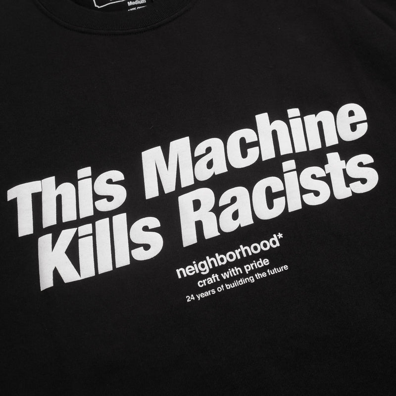 Neighborhood Racists-2 Tee | Black - CROSSOVER ONLINE