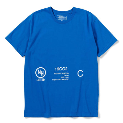 NeighborhoodSignaling Tee | Blue - CROSSOVER