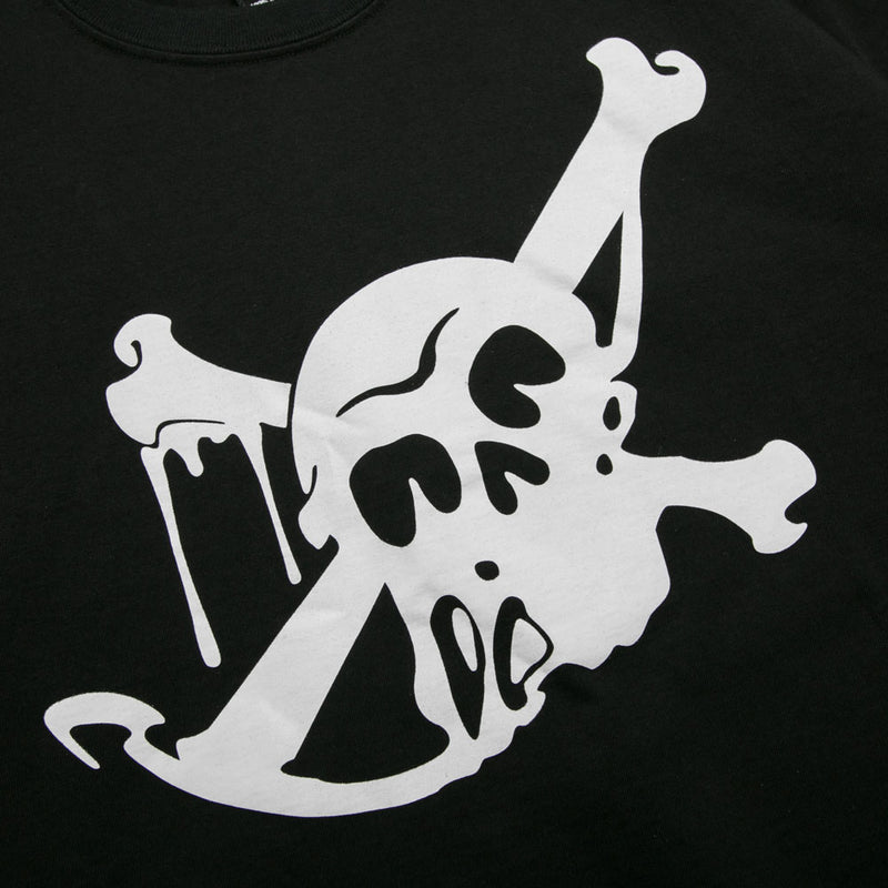 Neighborhood Skull & Bone C-Tee | Black - CROSSOVER ONLINE