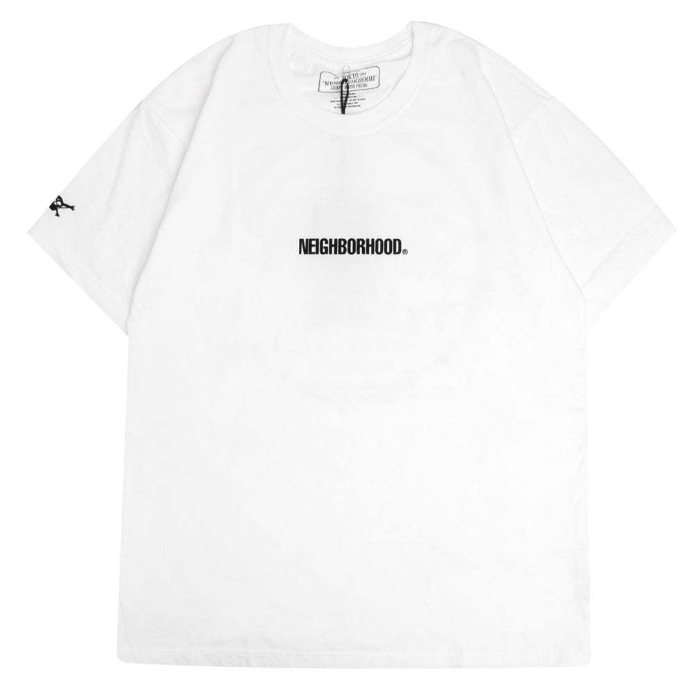 Neighborhood Squad Tee | White - CROSSOVER ONLINE
