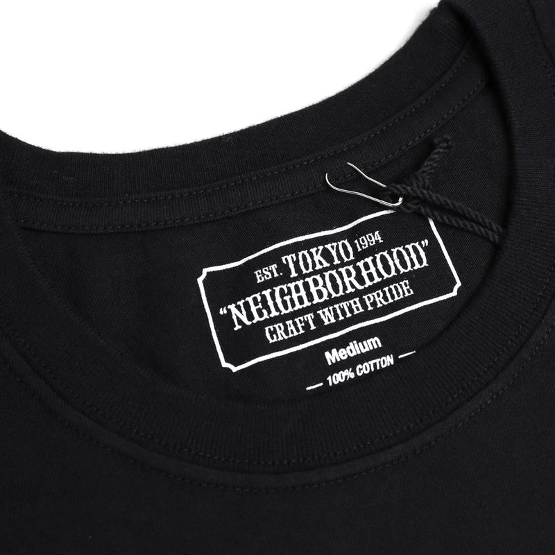 Neighborhood SRL Roots Tee | Black - CROSSOVER