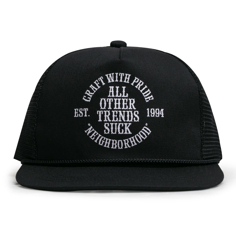 Neighborhood Sucker Cap | Black - CROSSOVER ONLINE