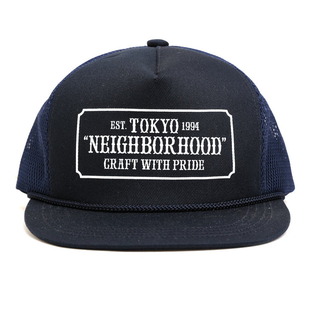 Neighborhood WP. Trucker Cap | Navy - CROSSOVER
