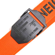 Neighborhood XXV Belt | Orange - CROSSOVER