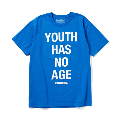NeighborhoodYouth Tee | Blue - CROSSOVER
