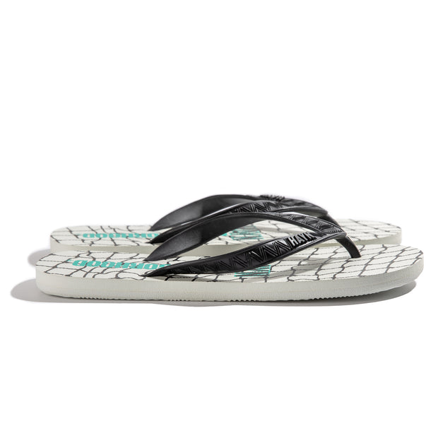Neighborhood 3 Point Sandal | White