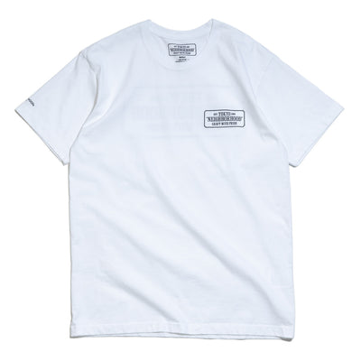 Bar & Shield Tee | White