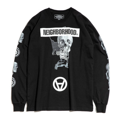 Neighborhood x Kostas Seremetis LS Tee | Black