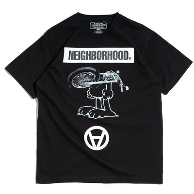 Neighborhood x Kostas Seremetis Tee | Black