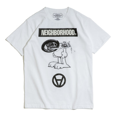 Neighborhood x Kostas Seremetis Tee | White